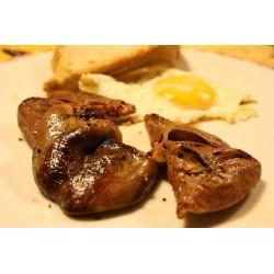 Cœurs de canard gras frais