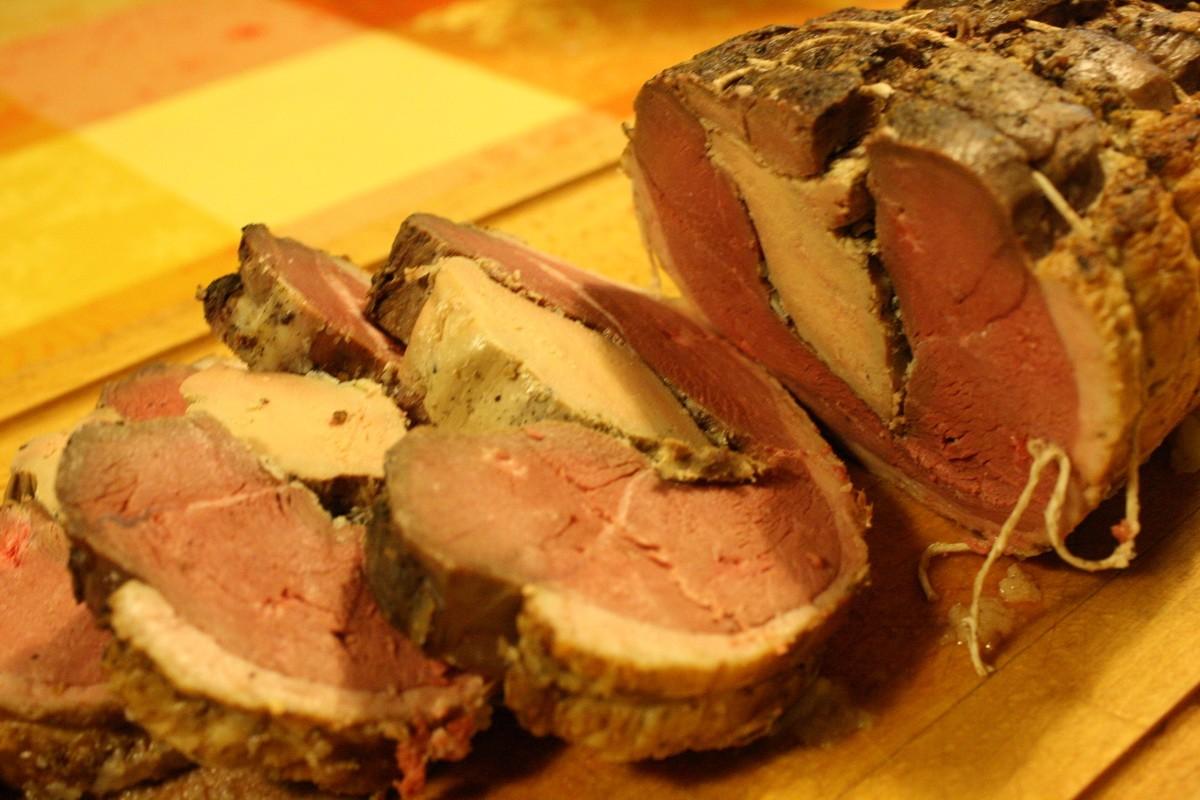 Magret Canard Foie Gras Four rôti de magrets de canard au foie gras du sud-ouest
