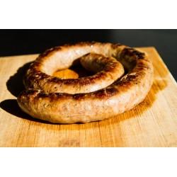 Saucisse fraîche de canard gras (40% - 500g)
